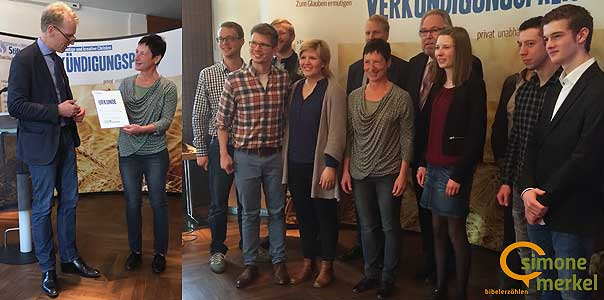 Verkündigungspreis 2017, Bergmoser+Höller Stiftung, Bibelerzählen, Simone Merkel