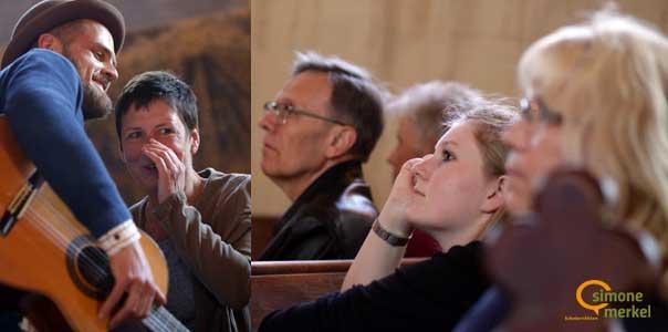 Sommerabend in Brandenburg, Bibelerzählen, Dorfkirche Radewege, Simone Merkel, Johannes Rosenstock