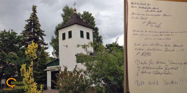 Sommerabend in Brandenburg, Bibelerzählen, Kirche Leegebruch, Simone Merkel