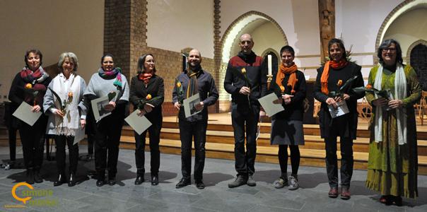 Ausbildung Bibelerzählen 2017/2018, Abschluss, Trinitatiskirche Berlin-Charlottenburg, Simone Merkel