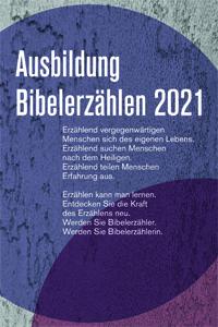 Bibelerzählen, Ausbildung 2021, Flyer, Simone Merkel
